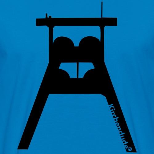 Förderturm - Männer Bio-T-Shirt