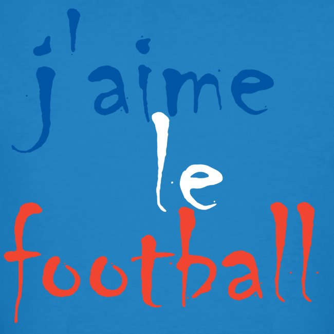 j' aime le football