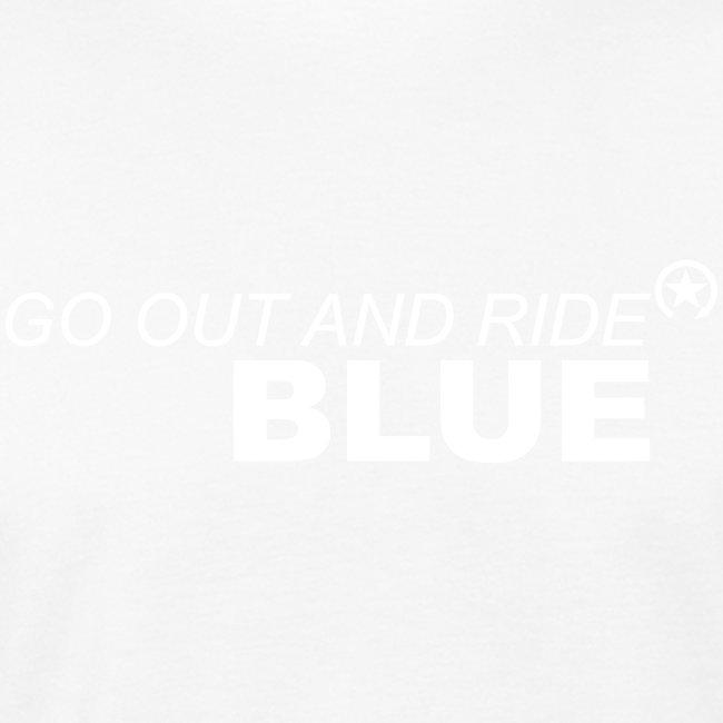 jeździć niebieskim