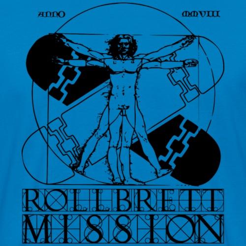 Mission Vitruvian - Männer Bio-T-Shirt