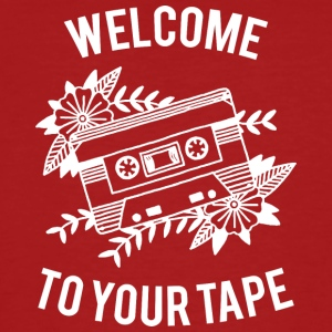 Welcome to your tape - Männer Bio-T-Shirt