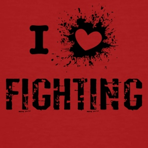 iLove Fighting - Men's Organic T-shirt