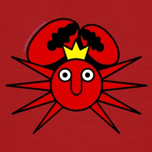 Sun King Crab - Männer Bio-T-Shirt