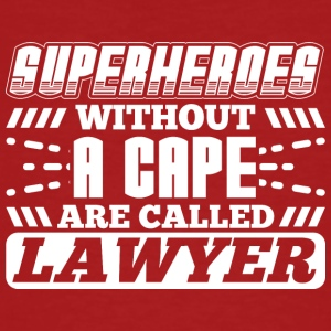 SUPER HEROES AVOCATS - T-shirt bio Homme