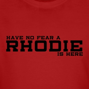 Rhodie No Fear Black - Ekologisk T-shirt herr