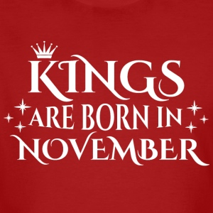 Kings are born in November - Men's Organic T-shirt
