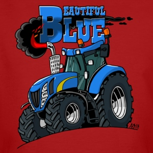 Beautiful Blue - Mannen Bio-T-shirt