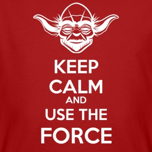 Use The Force Yoda - Men's Organic T-shirt