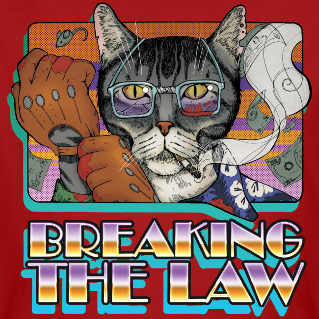 Crime Cat- Breaking the Law