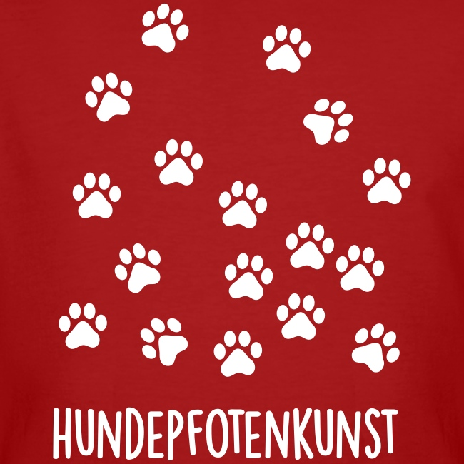 Vorschau: Hundepfotenkunst - Männer Bio-T-Shirt