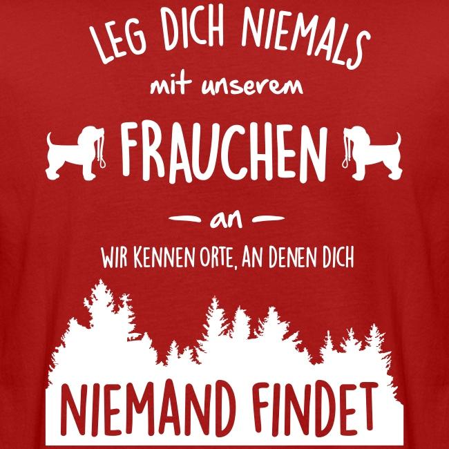 Vorschau: Unser Frauchen - Männer Bio-T-Shirt