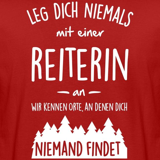 Vorschau: Reiterin - Männer Bio-T-Shirt