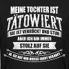 Tattoo Tätowiert Tattoos Tochter Vatertag - Männer Bio-T-Shirt
