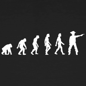 The Evolution Of Cowboys - Men's Organic T-shirt