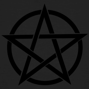 Pentagram gram~~POS=HEADCOMP - Økologisk T-skjorte for menn