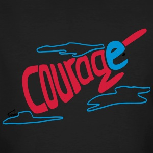 Courage superhero eco / fairtrade - Männer Bio-T-Shirt