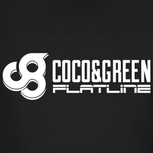 Coco and Green And Flatline - Men's Organic T-shirt