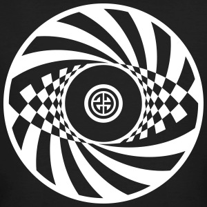 Tekno 23 Spiral Circle - Men's Organic T-shirt