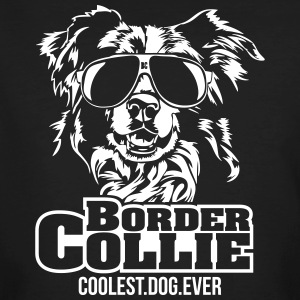 BORDER COLLIE coolest dog - Männer Bio-T-Shirt