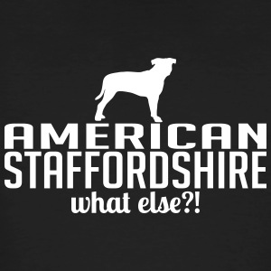 AMERICAN STAFFORDSHIRE what else - Men's Organic T-shirt