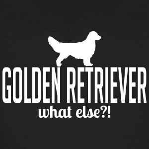 GOLDEN RETRIEVER what else - Männer Bio-T-Shirt