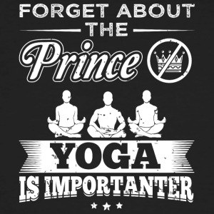 yoga FORGET PRINCE - T-shirt bio Homme