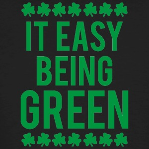 Ireland / St. Patrick's Day: It's Easy Being Green - Men's Organic T-shirt