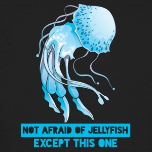 Swimming / Swimmer: Not Afraid Of Jellyfish. - Men's Organic T-shirt