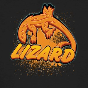 Cool tribal lizard - Mannen Bio-T-shirt
