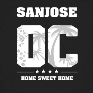 Ik hou van SAN JOSE - Orange County - Mannen Bio-T-shirt