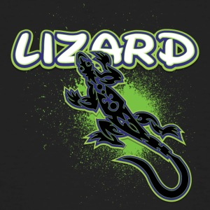 Cool lézard tribal - T-shirt bio Homme