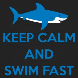 Swimming / Swimmer: Keep Calm And Swim Fast - Men's Organic T-shirt