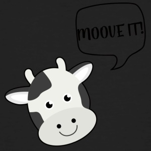 Vache / ferme: Moove It! - T-shirt bio Homme