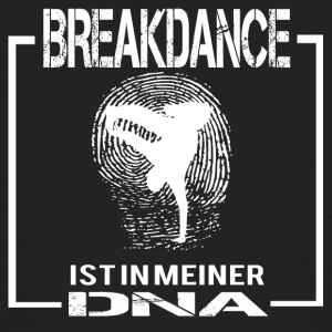 BREAKDANCE DNA - Männer Bio-T-Shirt
