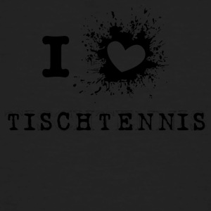 tennis de table iLove - T-shirt bio Homme