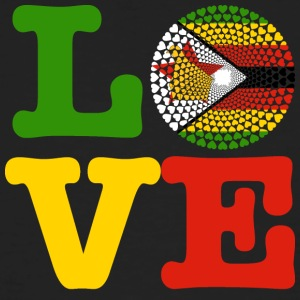 ZIMBABWE HEART - Men's Organic T-shirt