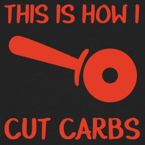 Firemen: This is how i cut carbs - Men's Organic T-shirt
