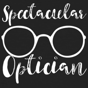 Opticien: Spectaculaire Opticien - Mannen Bio-T-shirt