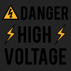 Electrician: Danger! High Voltage! - Men's Organic T-shirt