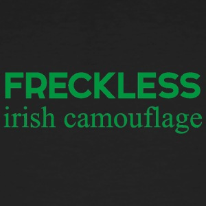 Ireland / St. Patricks Day: Irsk Freckless Camou - Økologisk T-skjorte for menn
