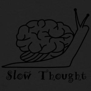 slow Thought - Mannen Bio-T-shirt