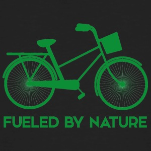 Earth Day / Tag der Erde: Fueled By Nature - Männer Bio-T-Shirt