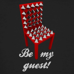 Be my guest! (Not.) - Mannen Bio-T-shirt