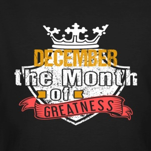 Month of Greatness DECEMBER - Men's Organic T-shirt