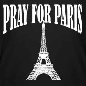 Pray for Paris - Männer Bio-T-Shirt