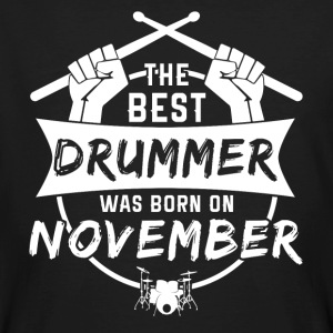 The best drummers were born in November - Men's Organic T-shirt