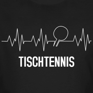 tennis de table Heartbeat - T-shirt bio Homme