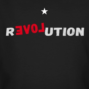 revolution star Love demonstartion - Men's Organic T-shirt