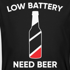 Low battery need Beer - Men's Organic T-shirt