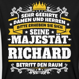 His Majesty Richard - Mannen Bio-T-shirt